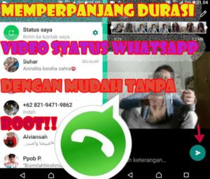 Durasi Status Whatsapp Bisa Sampai 10 Menit